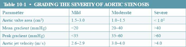 Grading the Severity of Aortic Stenosis