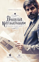 Vikram, Aishwarya Tamil New Upcoming movie Dhruva Natchathiram release 2019 Poster, star cast