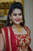 Jenny Honey in Stunning Dark Red Anarkali Dress at Splurge   Divalicious curtain raiser ~ Exclusive Celebrities Galleries 023.JPG