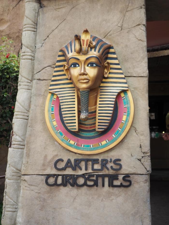 Universal Studios Singapore - Ancient Egypt Carter's Curiosities   joanne-khoo.com