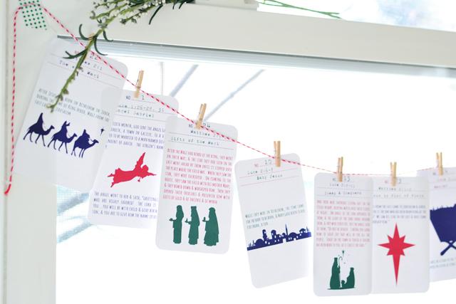 RedBirdBlue: Free Printable! {Christmas Story Advent Calendar}