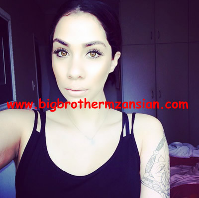 BBMzansi Chelsea Humfrey gets New Tattoo Photos