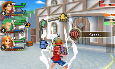 One Piece: Romance Dawn screenshot 1