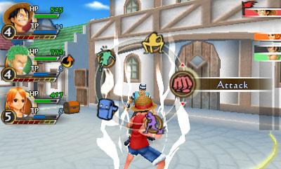 One Piece: Romance Dawn screenshot 1