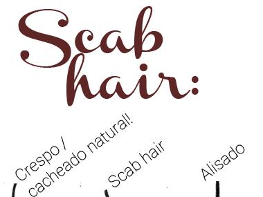 SCAB HAIR EXISTE? O QUE É E COMO TRATAR?