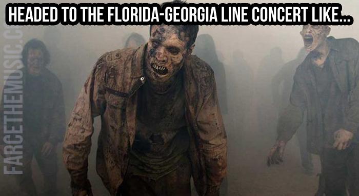 Farce The Music Tuesday Morning Memes Walking Dead Luke Bryan
