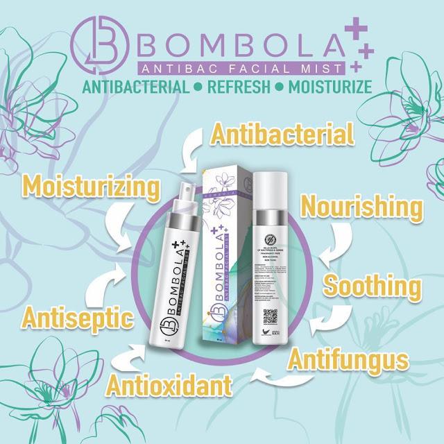 BOMBOLA Antibac Face Mist, First Antibacterial Face Mist in Malaysia, Bombola, Facial Mist, Antibacterial Face Mist, Beauty
