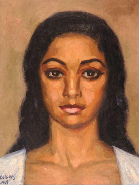 Retrato de Ana, Jaime Colson, 1969
