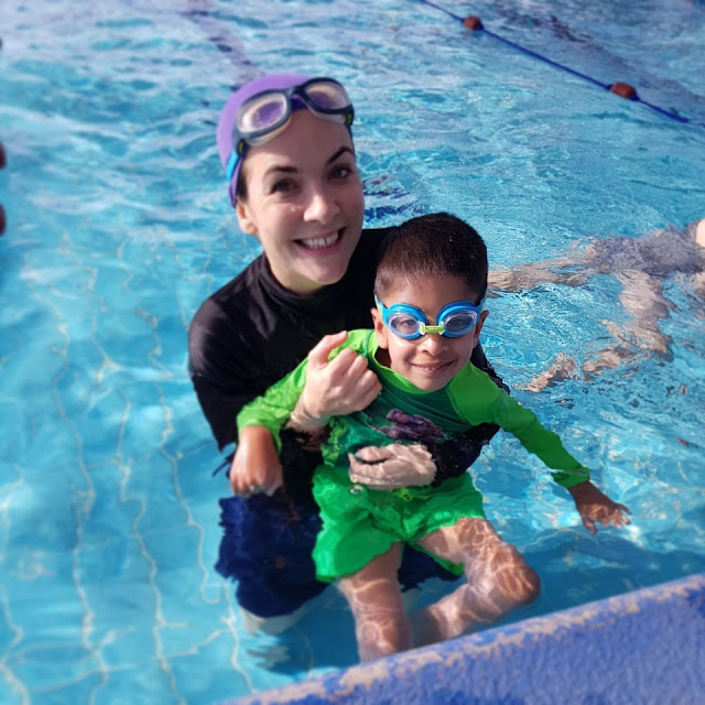 Learn to swim Muscat Oman BritSwim lessons qualified experienced