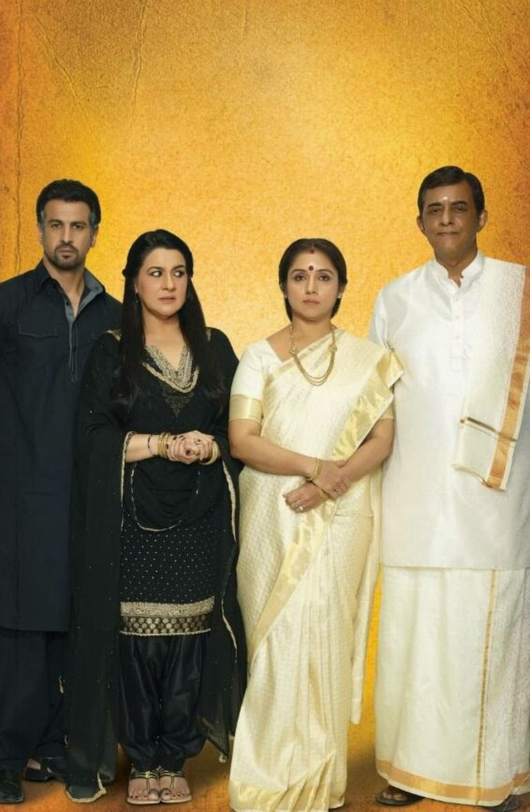 Parents of Arjun Kapoor and Alia Bhatt playing Krish and Ananya in Punjabi and Tamilian outfits