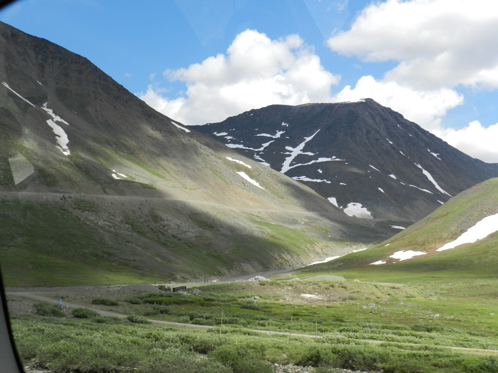 Anita S Adventures 2012 June 19 On To Deadhorse Alaska