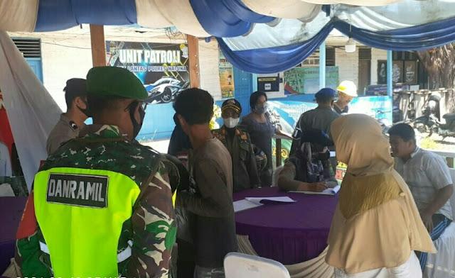 Sebanyak 17 Orang Terjaring Operasi Yustisi Yang Digelar TNI, Polri dan Tim Gugus Tugas Covid-19