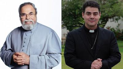 imagem dos Padres Antônio Maria e Robson de Oliveira