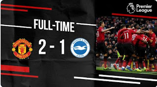Manchester United vs Brighton 2-1 Full Highlights