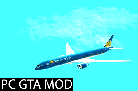 Free Download Vietnam Airlines Boeing 787-9 Dreamliner  Mod for GTA San Andreas.