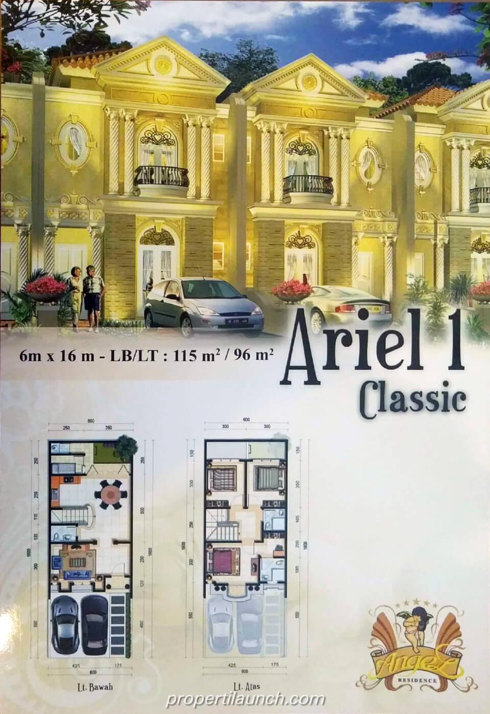 new angel residence cluster mewah baru kalideres jakarta. Black Bedroom Furniture Sets. Home Design Ideas