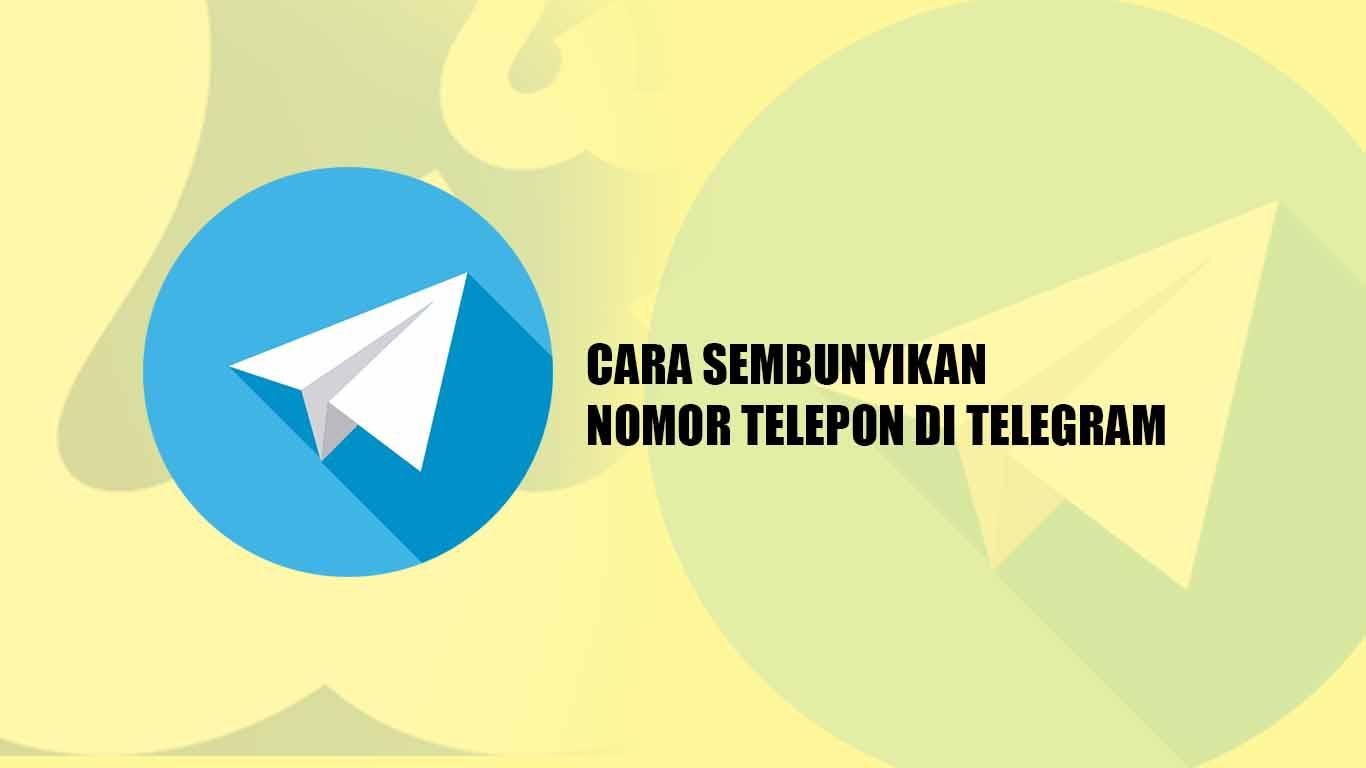 Tutorial untuk Sembunyikan Nomor Telepon di Telegram Android