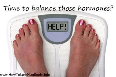 Treat Man Boobs with Hormonal Balancing