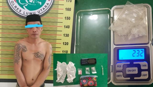 Gegara Sabu-Sabu, Polisi Tangkap Warga Wajo Di Malangke Luwu Utara