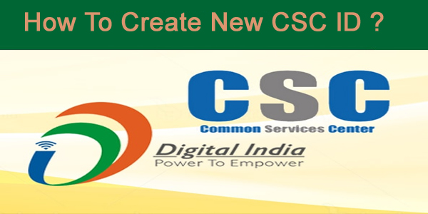 New CSC ID कैसे बनाये (How to create a new CSC ID) How to Generate csc id and password