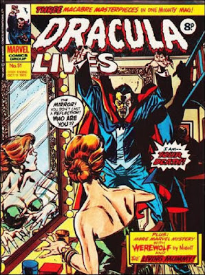 Marvel UK, Dracula Lives #51