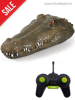 Crocodile Remote Control Boat Toy
