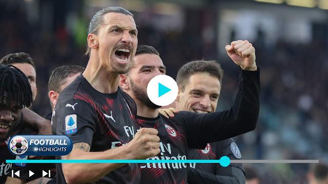 Cagliari vs Milan – Highlights