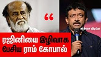 """Sudeep is Better than Rajinikanth"""" – Ram Gopal Varma calls Rajini a worst Actor"""