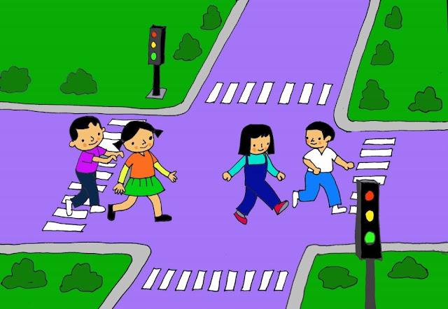 Tranh mầm non chủ đề phương tiện giao thông
