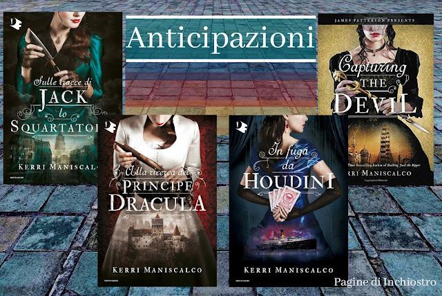I libri di Kerri Maniscalco arrivano in Italia anticipazione di Pagine di Inchiostro