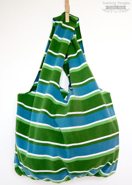 how to make a shopping tote bag
