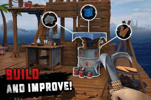 Survival on Raft: Ocean Nomad – Simulator