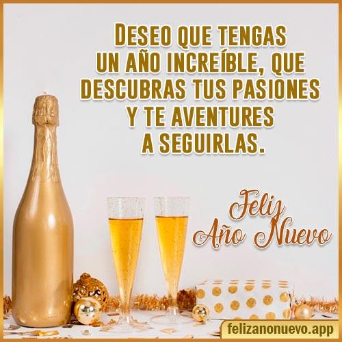 saludos para año nuevo