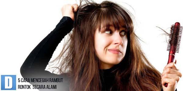 Mencegah rambut rontok, Mengatasi Rambut Rontok Secara Alami, Menumbuhkan Rambut Rontok Parah