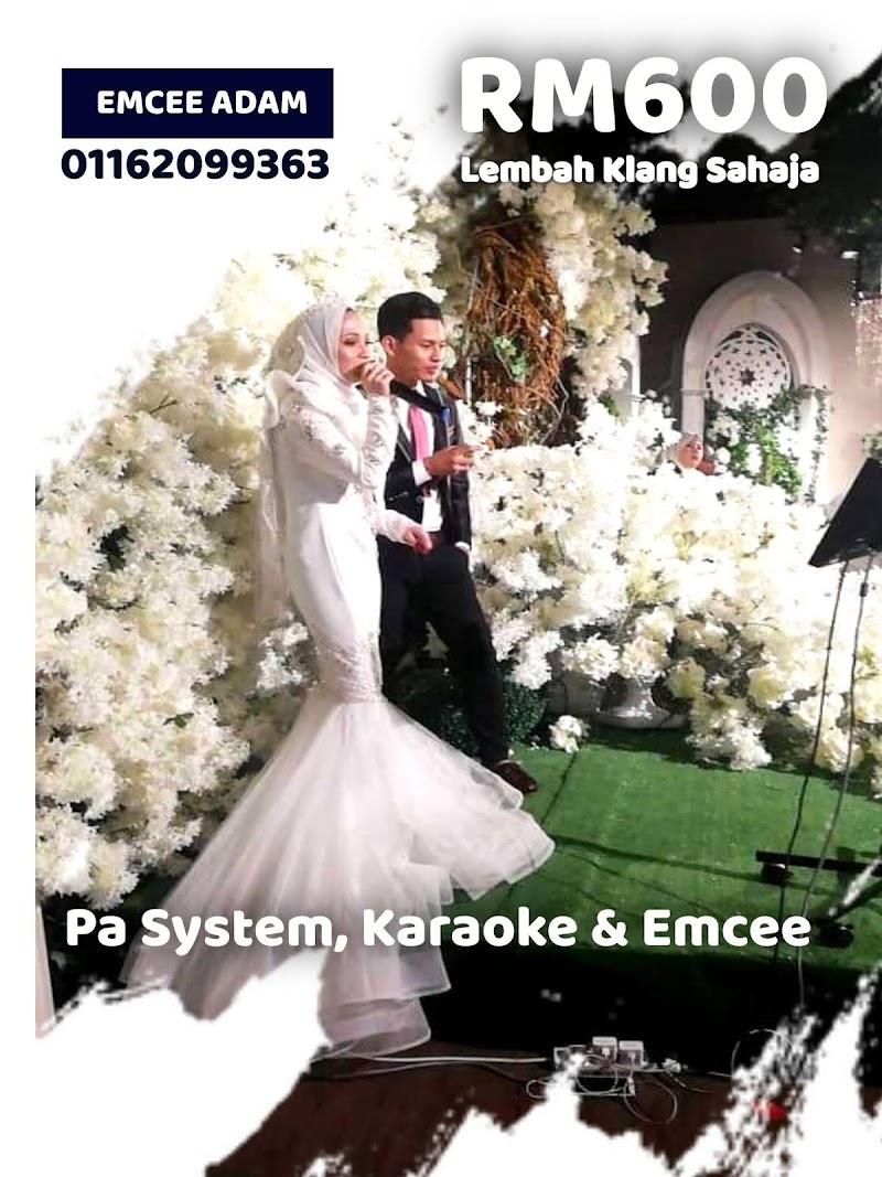 Pakej Pa System Karaoke Emcee Majlis Perkahwinan