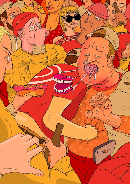 Ilustraciones-grotescas-Mike-Hughes
