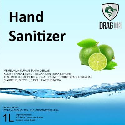 Hand Sanitizer Merk Drag On