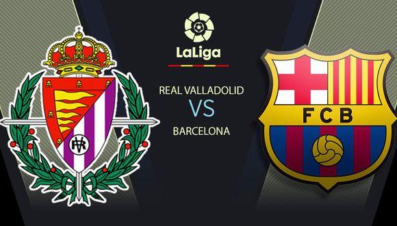 Barcelona vs Valladolid EN VIVO: horarios, canales y cómo ver partido por LaLiga Santander 2020