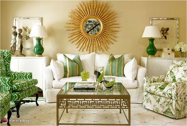 Green Color In Details Of Interior Designs 21
