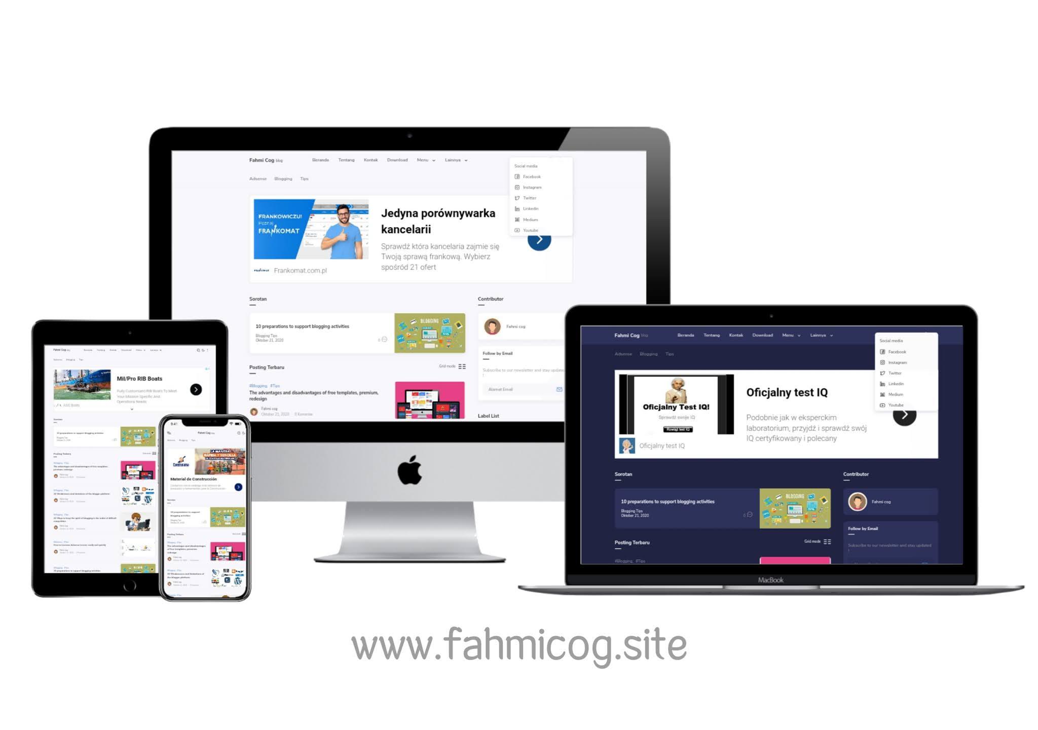 Fletro Pro v5.4 - Premium Free Blogger Template