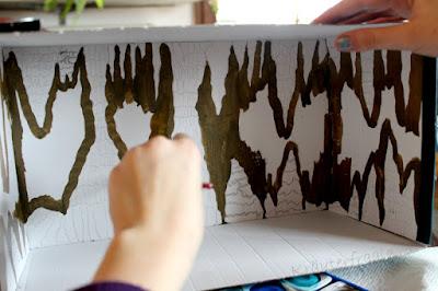 Malen einer Höhle