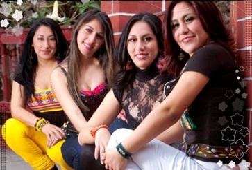 Foto de las integrantes del Grupo Marú