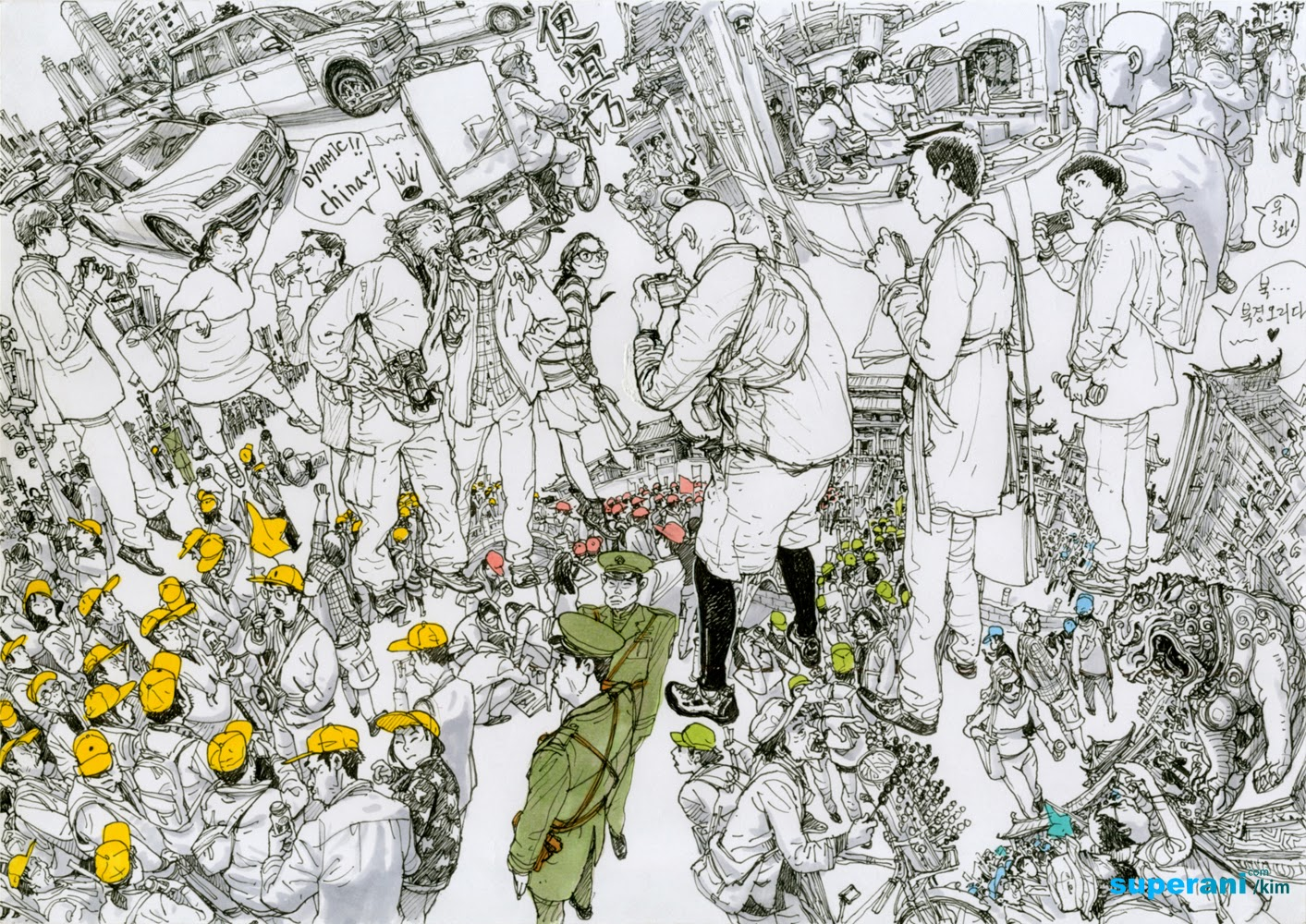 09-Kim-Jung-Gi-Fluid-Drawings-and-Compositions-www-designstack-co