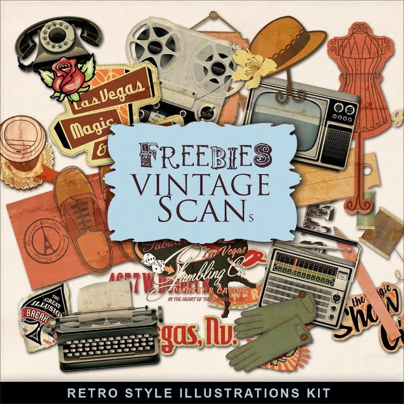 vintage freebies download