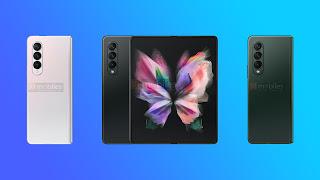 Samsung Galaxy Z Fold 3, Galaxy Z Flip 3