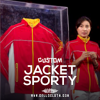 Bikin Jaket Custom Bordir dengan Pola Kombinasi untuk Tim Olahraga