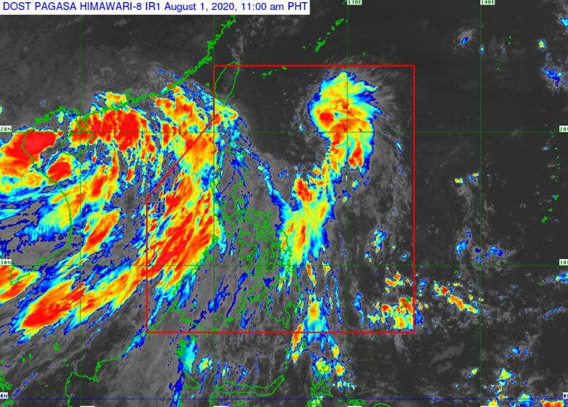 'Bagyong Dindo' PAGASA weather update August 1, 2020