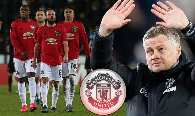 OMG! Man Utd Boss Solskjaer Gives Shocking Excuse For 1-1 Europa League Draw