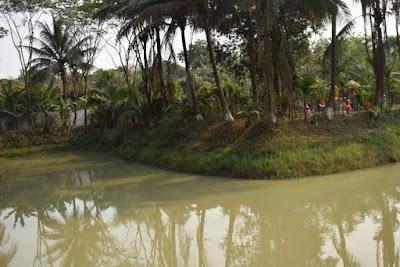 Lake in Pubail resort club
