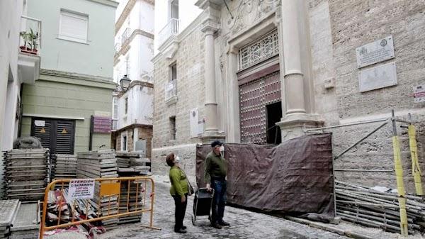 Las obras de rehabilitación del Museo del Carnaval están ya al 50 por ciento